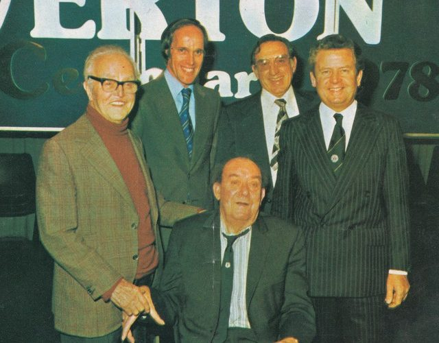 Everton's 'Hall of Fame' Events through the Decades – Rob Sawyer