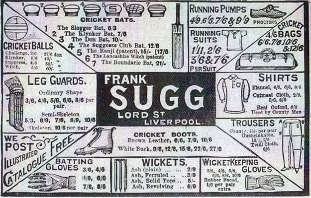 Frank Sugg – A Great Sporting All-Rounder – Rob Sawyer