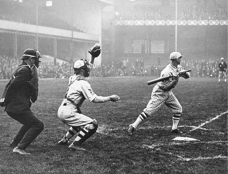When Baseball came to Goodison