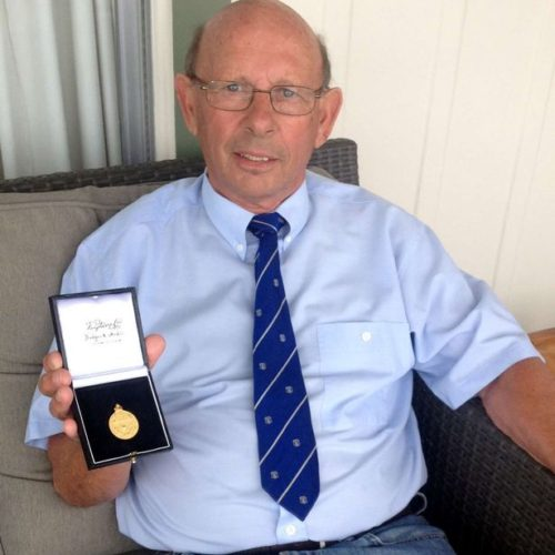 Ray Veall – honoured at last